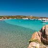 Archipelago of La Maddalena - Santa Maria Island, Cala Santa Maria beach.