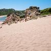 Sardinia, Italy: Monte d'Arena beach in La Maddalena Island / La Maddalena: spiaggia Monte d'Arena