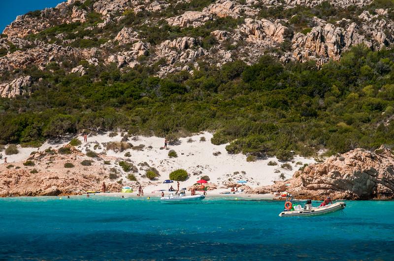 Archipelago of La Maddalena - Spargi Island, Cala Soraya.