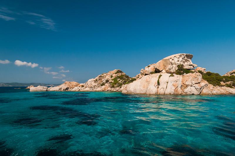 Archipelago of La Maddalena - Spargi Island.