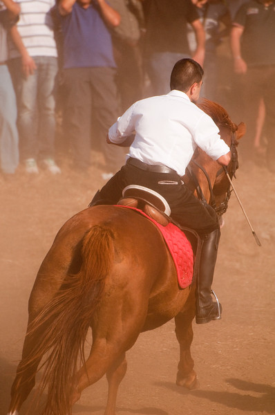 06.07.11 - Sedilo, Sardinia, Italy: Ardia Festival. The Ardia is one of the most important traditional events of Sardinia, a ritual horse race which envolve over 100 brave horsemen every year on 6 and 7 of july - (ITA) Sedilo: l'Ardia di San Costantino, sfrenata corsa a cavallo fatta in onore di San Costantino, che si svolge ogni anno a Sedilo il 6 e il 7 luglio.
