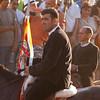 Sedilo, Italy - 06.07.2012. Ardia di San Costantino horse race. The third flag (Sa terza Pandela).