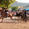 06.07.11 - Sedilo, Sardinia, Italy: Ardia Festival. The Ardia is one of the most important traditional events of Sardinia, a ritual horse race which envolve over 100 brave horsemen every year on 6 and 7 of july in honour of St. Constantine - (ITA) Sedilo: l'Ardia di San Costantino, sfrenata corsa a cavallo fatta in onore di San Costantino, che si svolge ogni anno a Sedilo il 6 e il 7 luglio e ricorda la battaglia di Ponte Milvio tra Costantino e Massenzio.