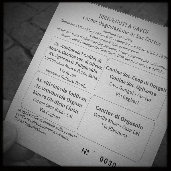 Gavoi, 13/10/2012. Cortes Apertas 2012. Made with iPhone 4.