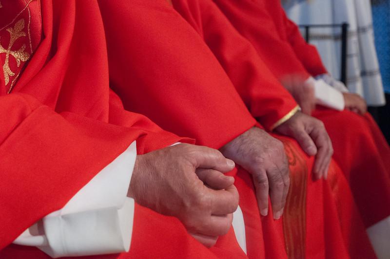 Olbia, 15.05.2012. Festa di San Simplicio. Un momento della Messa Solenne in onore di San Simplicio, Patrono di Olbia e della Gallura, celebrata dal Vescovo della Diocesi di Tempio-Ampurias, Mons. Sebastiano Sanguinetti.