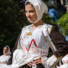 Nuoro, 26.08.2012. Sagra del Redentore festival 2012 - parade of traditional Sardinian costumes.