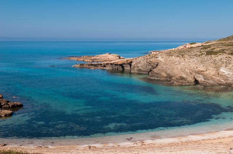 Sardinia, Italy: Argentiera beach, near Alghero.  Spiaggia dell'Argentiera, ex villaggio minerario a nord di Alghero, sulla costa nord-occidentale della Sardegna.