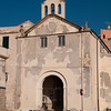 Sardinia, Italy, Alghero: view of the old town