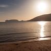 Sardinia, Italy: Porto Conte Bay. - Sardegna, Alghero, baia di Porto Conte: Capo Caccia visto dalla spiaggia Mugoni