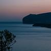 Sardinia, italy: Alghero, sunset at Capo Caccia.  -  Tramonto su Capo Caccia