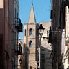 Sardinia, Italy, Alghero: view of the old town - Sardegna, Alghero, centro storico