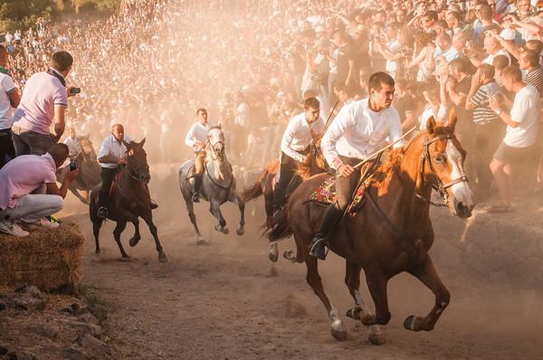 Sardegna tradizioni: Ardia di Sedilo