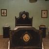 Aritzo, Italy, 25.10.2009. Cortes Apertas 2009, Aritzo: Sagra delle castagne e delle nocciole. Un'antica camera da letto in un'abitazione del paese..