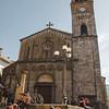 Aritzo, Italy, 25.10.2009. Cortes Apertas 2009, Aritzo: Sagra delle castagne e delle nocciole. La chiesa di San Michele Arcangelo.