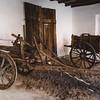 Aritzo, Italy, 25.10.2009. Cortes Apertas 2009, Aritzo: Sagra delle castagne e delle nocciole. Antichi carri a buoi