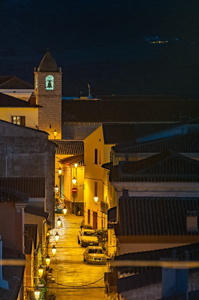 Arzachena, centro storico