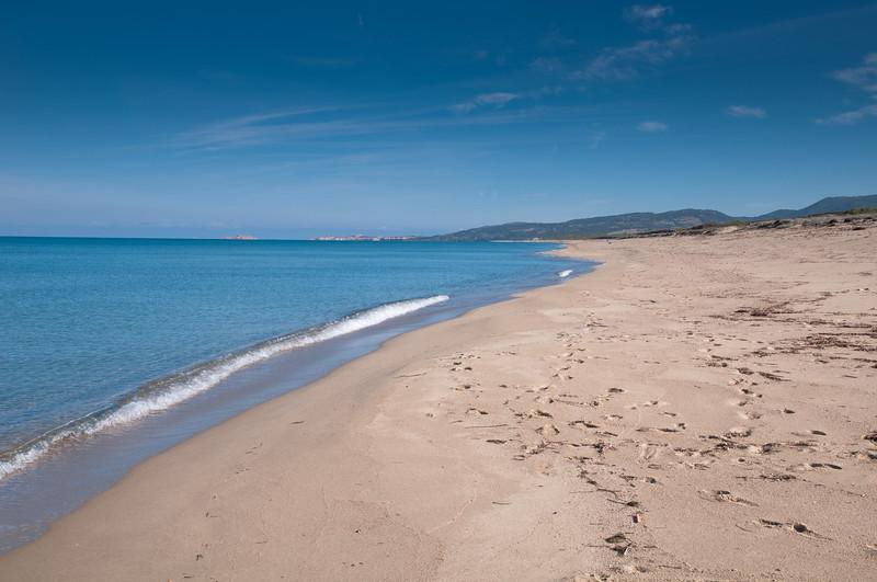Sardinia, Italy: Badesi, Baia delle Mimose beach / Sardegna, spiaggia di baia delle mimose, nei pressi di Badesi