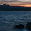 Baja Sardinia, Golfo di Cannigione al tramonto.