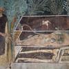 Bosa, affreschi nella chiesa all'inteno del castello
