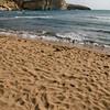 Santa Caterina di Pitinurri, il lungomare e la spiaggia, a nord di Oristano