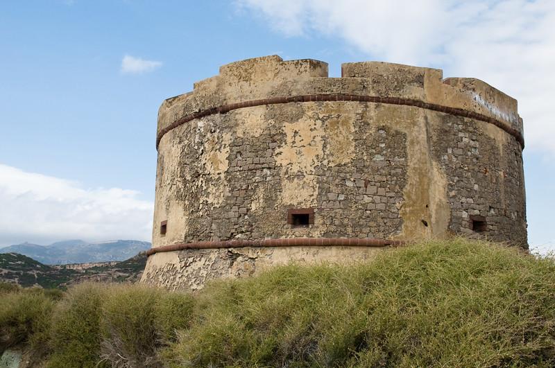 Bosa, torre di Bosa Marina