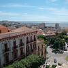 Sardinia, Italy: view of Cagliari, main center of the region - Cagliari: veduta della città dal Castello