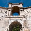 Sardinia, Italy: Cagliari: S. Remy rampart - Sardegna,  Centro storico di Cagliari: bastione di S. Remy