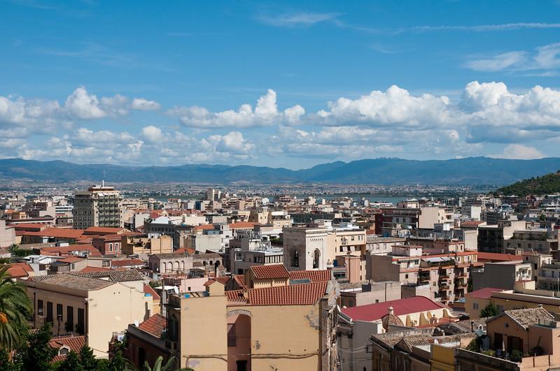 Sardinia, Italy: view of Cagliari. Cagliari: veduta della città