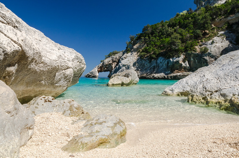 Cala Goloritze', a beautiful bay located in the Ogliastra region, on the Gulf Of Orosei, in the central-eastern coast of Sardinia.