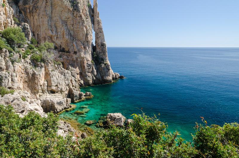 Transparencies in the located in the Gulf Of Orosei, Ogliastra region, in the central-eastern coast of Sardinia.