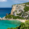 Sardinia: Cala Luna beach, considered one of the most beautiful bay of the Mediterranean Sea. Tha beach is situated on the territory between Dorgali and Baunei, in the Gulf of Orosei.