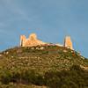 Il castello di Marmilla a Las Plassas, nei pressi di Barumini - Medio Campidano.