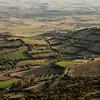 Sardinia, Italy: landscape of Campidano region at late evening - Il territorio del Medio Campidano visto dall'altopiano della Giara di Gesturi.