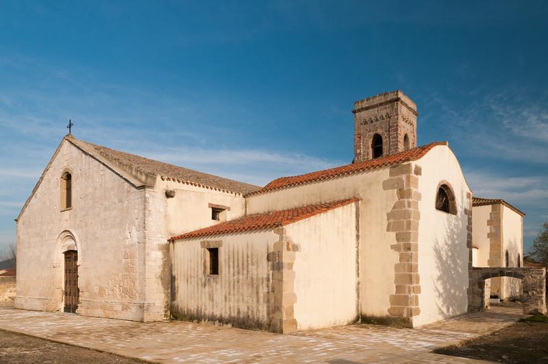 Barumini, Chiesa dell'Immacolata concezione, risalente al secolo XVI.