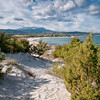 Sardinia, Italy:  Capo Comino bay with sand dunes, near Siniscola - Sardegna, dune di Capo Comino, nei pressi di Siniscola