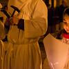 Castelsardo (OT) Italy. 25.03.2013 - Lunissanti 2013 (Holy Monday). La processione notturna.
