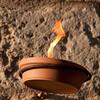 "Sardinia, Italy: Castelsardo, holy week: ""lunissanti"". Candles are fired up for the nocturnal procession. (ITA) Riti della Settimana Santa a Castelsardo: Lunissanti. I ceri accesi per la processione notturna."