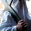 """Sardinia, Italy: Rituals of the holy week in Castelsardo: """"Lunissanti"""". (ITA) I riti della Settimana Santa a Castelsardo: Lunissanti. La processione dei misteri verso la chiesa di N.S. di Tergu."""