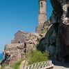 Sardinia, Italy: medieval church and bell tower of Castelsardo.  - Castelsardo: La torre e la Cattedrale di Sant'Antonio Abate.