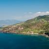 Sardinia, Italy: Castelsardo's coastline.