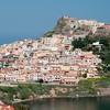 Sardinia, Italy: view of Castelsardo. - Sardegna, Castelsardo, uno dei borghi medievali più belli d'Italia.