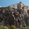 Sardinia, Italy: view of Castelsardo, Castello dei Doria.  - Sardegna, Castelsardo: la roccaforte dei Doria