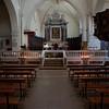 I riti della Settimana Santa a Castelsardo: Lunissanti. Interno della Cattedrale di Sant'Antonio Abate - SOLO USO EDITORIALE / EDITORIAL USE ONLY