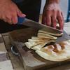 """Oliena (NU), Italy, 15.09.2013. Cortes Apertas. Degustazione del pane: """"Sa Panedda"""" di Oliena."""