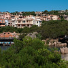Sardinia, Italy:  view of Porto Cervo, the famous touristic location.