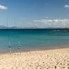 Costa Smeralda: fishing at Cala Liscia Ruja beach.
