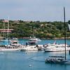 Costa Smeralda: partenza di una regata dalla marina di Porto Cervo