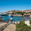 Sardinia, Italy: Porto Cervo, the famous touristic location.