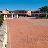 Sardinia, Italy: Porto Cervo, the famous touristic location. Main square at summer.