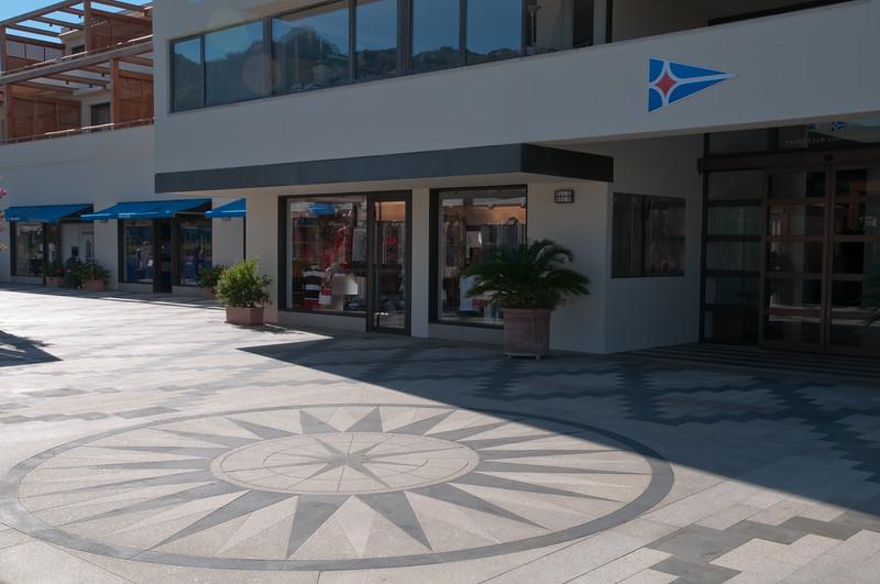 Sardinia, Italy: Porto Cervo Marina, headquarter of Yachting Club Costa Smeralda